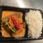 Pineapple Red Curry and Rice