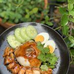 Roast Pork and Rice